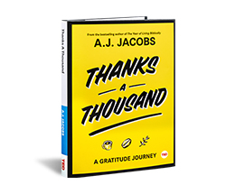 TED Book: Thanks a Thousand