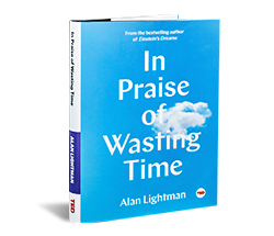 TED Book: In Praise of Wasting Time
